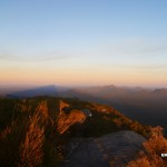The Shadow of Bluff Knoll at Sunrise, Stirling Ranges